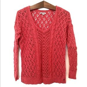 Knit cotton sweater by American Eagle